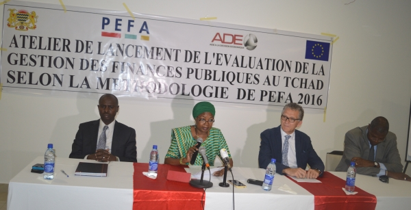 ATELIER DE LANCEMENT DE LA MISSION D'EVALUATION DE LA PERFORMANCE DE LA GESTION DES FINANCES PUBLIQUES SELON LA METHODOLOGIE PEFA AU TCHAD.